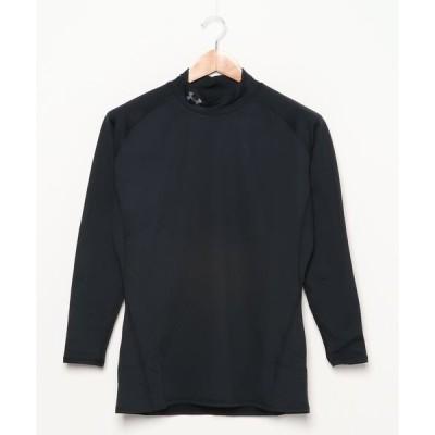 tシャツ Tシャツ UAコールドギア ミドルウエイト フィッティド ロングスリーブ モック(ゴルフ/MEN)