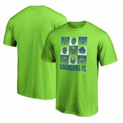 Fanatics Branded ファナティクス ブランド スポーツ用品  Seattle Sounders FC Fanatics Branded Marvel Hall of Heroes T-Shirt  Rave
