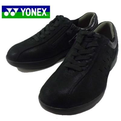 ヨネックス YONEX 黒 ウォーキングシューズ 靴 レディース SHW-LC92 35E