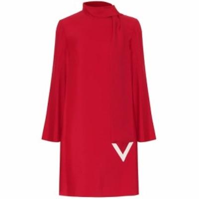 ヴァレンティノ Valentino レディース ワンピース シフトドレス ワンピース・ドレス VLOGO shift dress Rosso/Avorio
