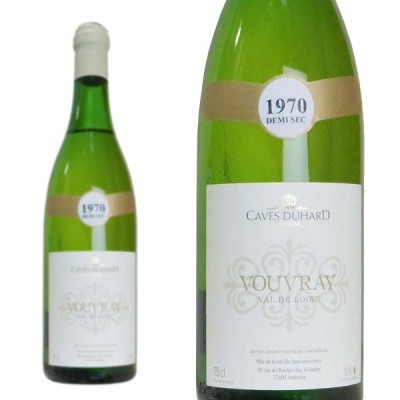 ヴーヴレ  ドゥミ・セック  1970年  カーヴ・デュアール  ダニエル・ガテ  750ml  (フランス  ロワール  白ワイン)  家飲み