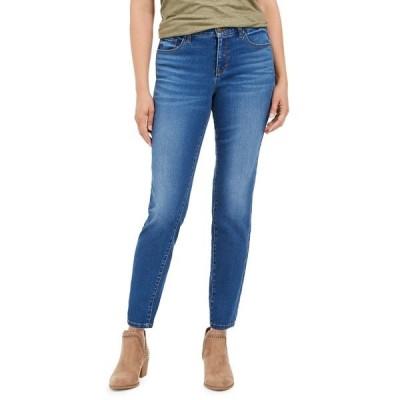 スタイルアンドコー デニムパンツ ボトムス レディース Petite Curvy-Fit Tummy-Control Skinny Jeans, in Petite & Petite Short,  Deception