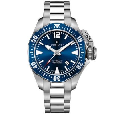 ハミルトン HAMILTON 腕時計 H77705145 メンズ KHAKI カーキ ネイビー OPEN WATER オープンウォーター ダイバーズ