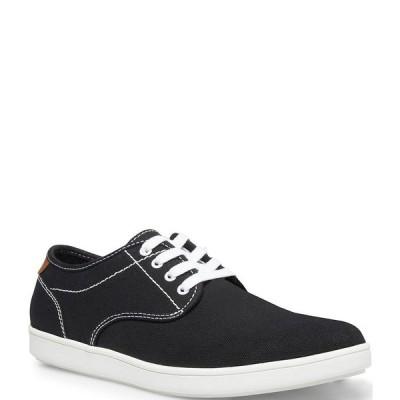 スティーブ マデン メンズ スニーカー シューズ Men's Fenta Sneakers Black Canvas