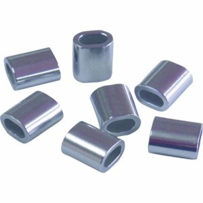 ニッサチェイン アルミオーバルスリーブ (100個入) (1箱) 品番:AYP-20A