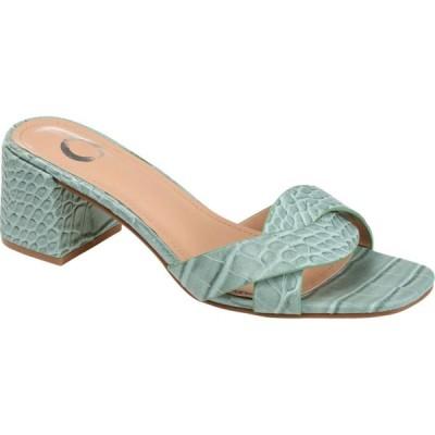 ジュルネ コレクション Journee Collection レディース サンダル・ミュール シューズ・靴 Perette Slide Green