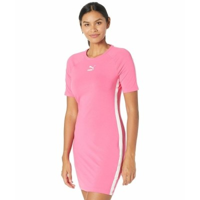 プーマ ワンピース トップス レディース Classics Taped Dress Glowing Pink