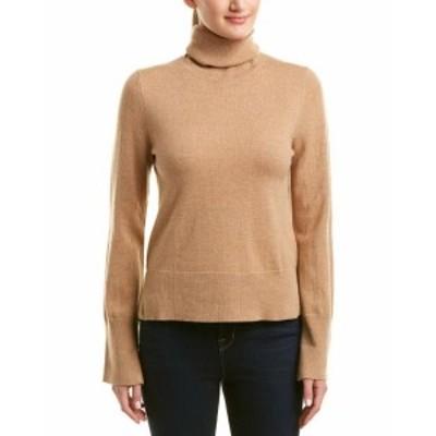 ファッション トップス White + Warren Wool & Cashmere-Blend Turtleneck Sweater