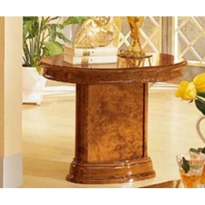 【イタリアの高級家具が安い店】【イタリア製家具】ランプテーブル カフェテーブル/家具 収納 (ウォールナット)