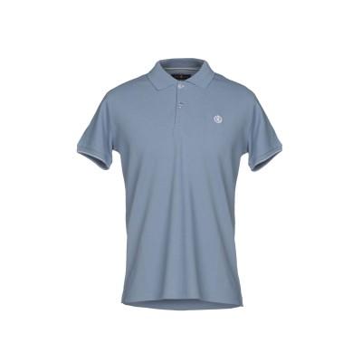 HENRI LLOYD ポロシャツ ブルーグレー S コットン 100% ポロシャツ