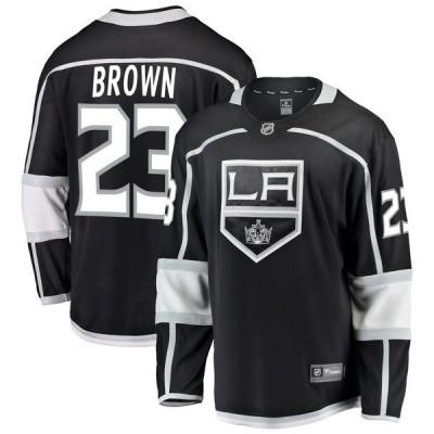 ファナティクス ブランデッド メンズ Tシャツ トップス Dustin Brown Los Angeles Kings Fanatics Branded Breakaway Jersey