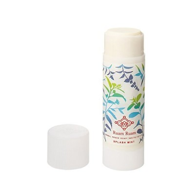 Ruam Ruam(ルアンルアン) 洗顔石鹸(白) スプラッシュミント 白×スプラッシュミント 90g
