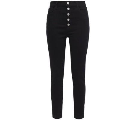 ジェイ ブランド J BRAND レディース ジーンズ・デニム ボトムス・パンツ cropped high-rise skinny jeans Black