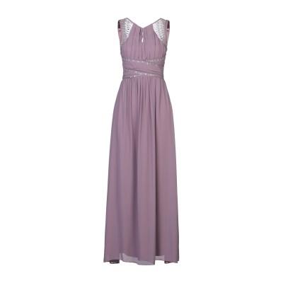 NO SECRETS ロングワンピース&ドレス モーブ 44 ポリエステル 100% ロングワンピース&ドレス