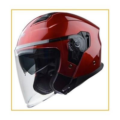 Vega Helmets 男女兼用 大人用 オープンフェイス オートバイヘルメット X-Large レッド 9000-275【並行輸入品】