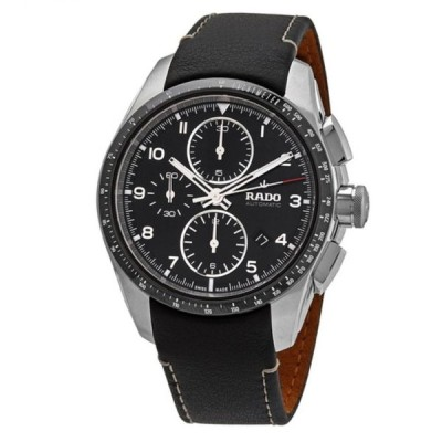RADO/ラドー メンズ 腕時計 HyperChrome Chronograph Automatic Black Dial Men's Watch R32042155