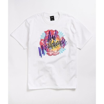 ハフ HUF メンズ Tシャツ トップス always and forever white t-shirt White