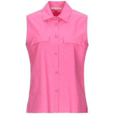 BIANCOGHIACCIO シャツ ピンク 40 コットン 100% シャツ