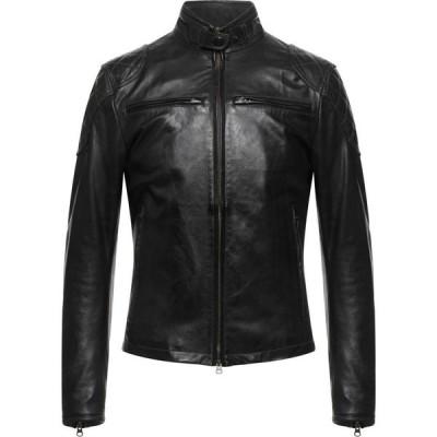 マッチレス MATCHLESS メンズ レザージャケット アウター Leather Jacket Steel grey