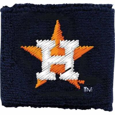 フランクリン Franklin ユニセックス ファッション小物 リストバンド Houston Astros Black 2.5 Wristbands
