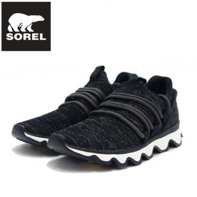 ソレル SOREL NL 3227 (レディース) キネティックレース:ブラック (011)  スリッポンスニーカー