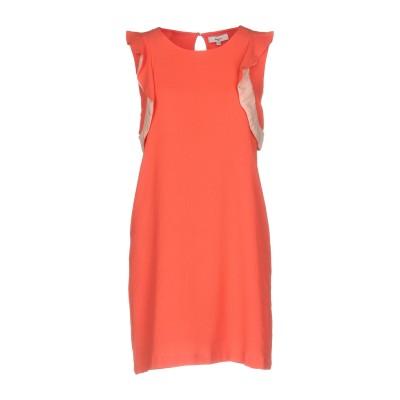 SUNCOO ミニワンピース&ドレス コーラル 2 ポリエステル 100% ミニワンピース&ドレス