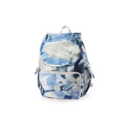 キプリング Kipling CITY PACK (Tie Dye Blue)