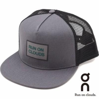 オン On クルーキャップ Crew Cap [321.00223 SS21] メンズ・レディース メッシュキャップ 帽子 フリーサイズ グレー グレー系【春新作】
