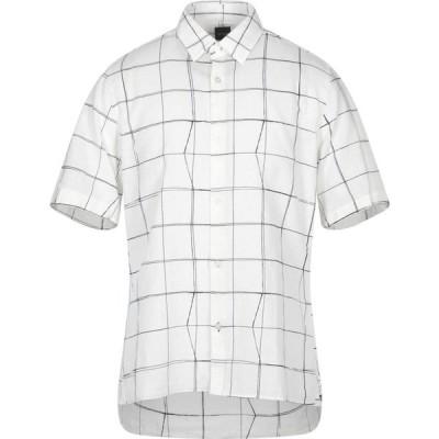 ヒューゴ ボス BOSS HUGO BOSS メンズ シャツ トップス Checked Shirt Ivory