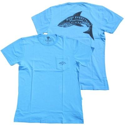 【VISSLA・ヴィスラ】GREAT S/S Tee /シャーク Tシャツ(M4234GRE)CAR【S】
