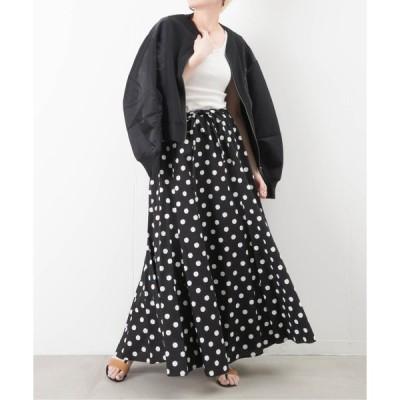 スカート malla マーラ ドットマキシスカート
