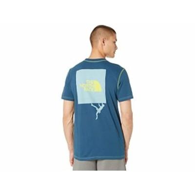(取寄)ノースフェイス ドーム クライム ショート スリーブ ティー The North Face Dome Climb Short Sleeve Tee Monterey Blue