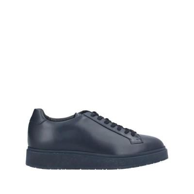 SANTONI スニーカー ファッション  メンズファッション  メンズシューズ、紳士靴  スニーカー ダークブルー