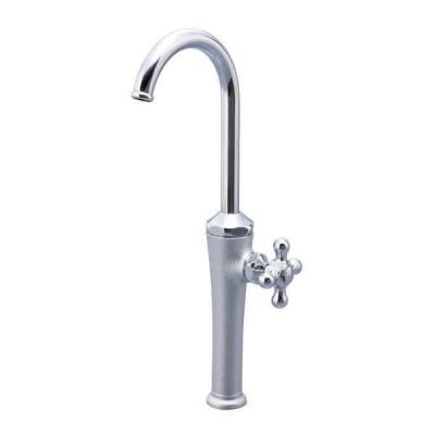 デザイン水栓 立水栓レトロン (メッキ) HV4-T15J-RM