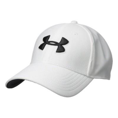 アンダーアーマー 帽子 アクセサリー メンズ Blitzing 3.0 Cap White/Steel/Black
