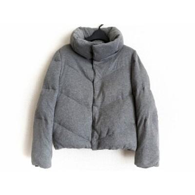 マウジー moussy ダウンジャケット サイズ2 M レディース グレー 冬物【中古】