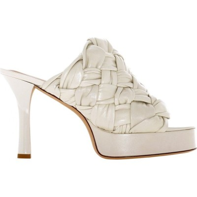 """ボッテガ ヴェネタ Bottega Veneta レディース サンダル・ミュール シューズ・靴 """"Bv Board"""" Sandals Beige"""