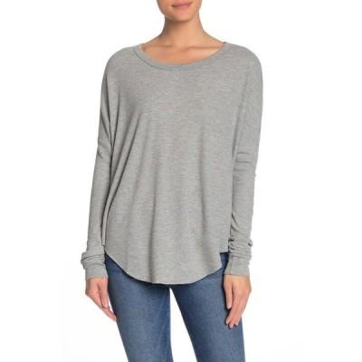ワイルドフォックス レディース Tシャツ トップス Perry Basic Thermal T-Shirt HEATHER