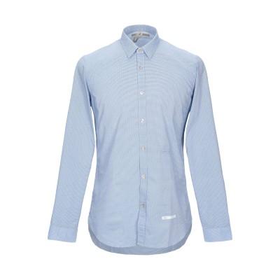 DNL シャツ ブルー 39 コットン 100% / ナイロン シャツ