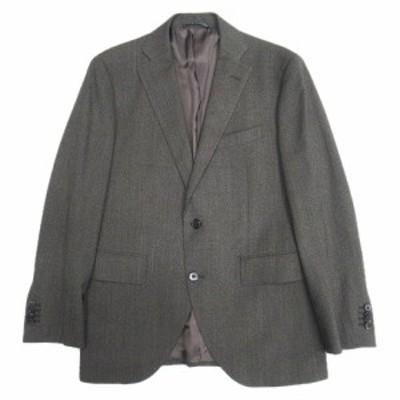 【中古】極美品 ザ・スーツカンパニー THE SUIT COMPANY REDA ウール セットアップ スーツ 165cm-4Drop メンズ