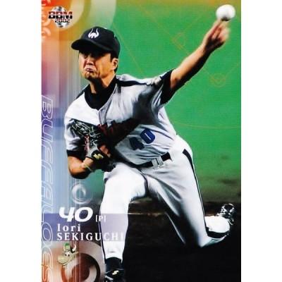 190 【関口伊織/近鉄バファローズ】2002 BBM ベースボールカード 1stバージョン レギュラー