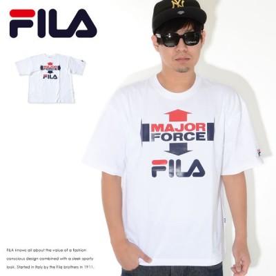 FILA フィラ Tシャツ 半袖 MAJORFORCE メジャーフォース コラボ (FS0102)