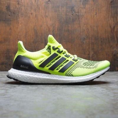 アディダス Adidas メンズ スニーカー シューズ・靴 UltraBOOST yellow/solar yellow/core black