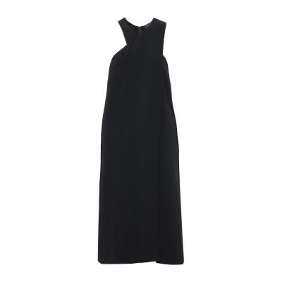クシュニー・エ・オクス CUSHNIE 7分丈ワンピース・ドレス ブラック 8 レーヨン 97% / ポリウレタン 3% 7分丈ワンピース・ドレス
