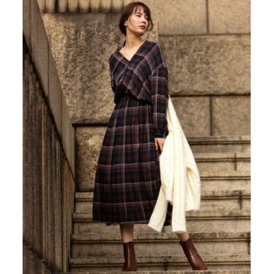【マージュール】 CHECK DRESS レディース その他 M marjour