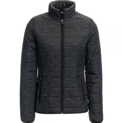 マウンテンクラブ Mountain Club レディース ダウン・中綿ジャケット アウター Lightweight Puffer Jacket Black Space Dye
