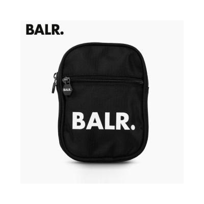 BALR. ユニセックス ショルダーバッグ U-Series Cross Body Bag B10035/BLACK/20ss