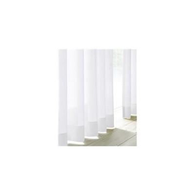 ds-1671768 遮熱ミラーレースカーテン2枚組ホワイト100×108cm (ds1671768)