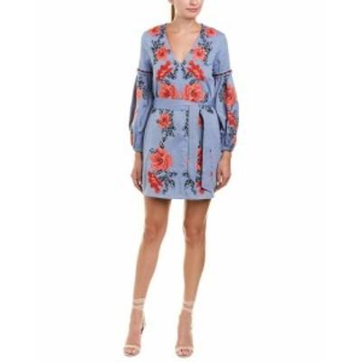 Parker パーカー ファッション ドレス Parker Anana Shift Dress 0 Blue
