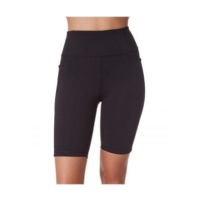 X by Gottex レディース 女性用 ファッション ショートパンツ 短パン Active Biker Shorts - Black 1
